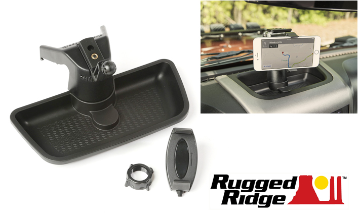 Dash Multi-Mount System, 11-16 Jeep JK