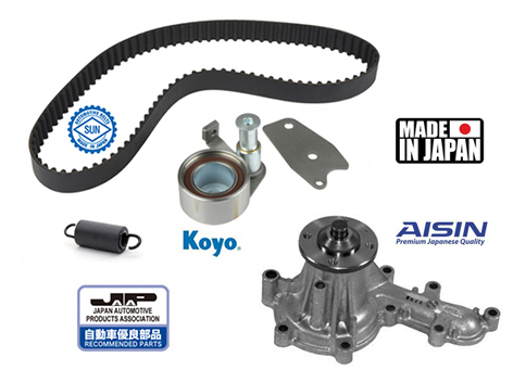 Kit distributon + Pompe à eau AISIN, Japan