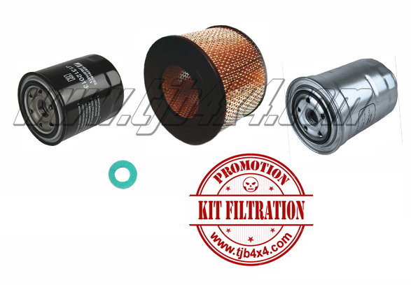 Kit filtration HDJ80/HZJ8/HZJ7/KZJ7