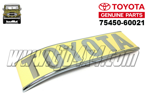 "6-1 Sigle ""TOYOTA"" angle arriere Gauche, By Totota®"