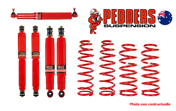 Kit suspension Pedders TrakRyder LJ70-LJ73 phare carré