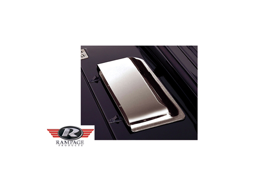 Air Scoop jeep wrangler YJ/TJ, Chrome