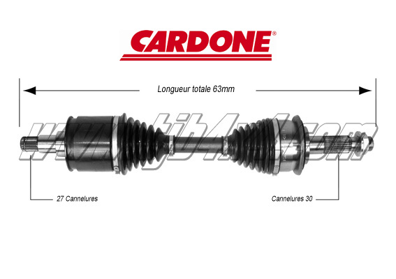 Cardan complet adaptable, by Cardone®